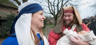 Maria, Jozef en kindje Jezus